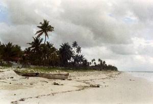 Plage à Zanzibar
