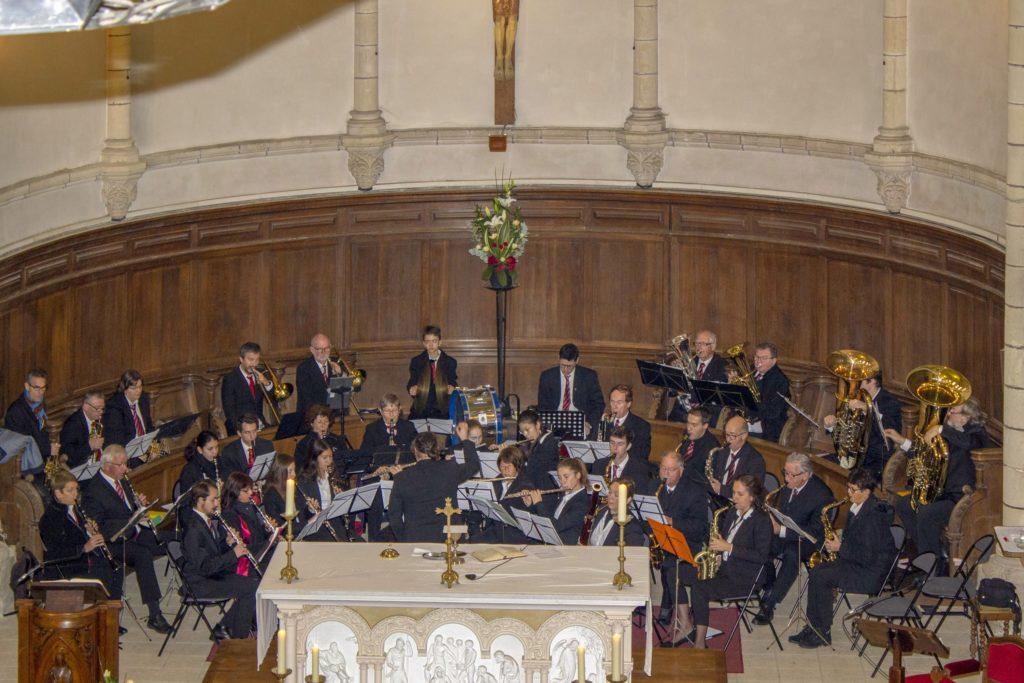 25 novembre 2018, l'OHVP dans le chœur de l'église Saint-Gilles, Pornic.