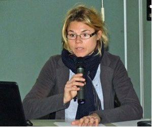 Agathe Aoustin, conférencière le 11 août 2018, association ADRP, Pornic. Thème: les villas côtières, Sainte-Marie-sur-mer.