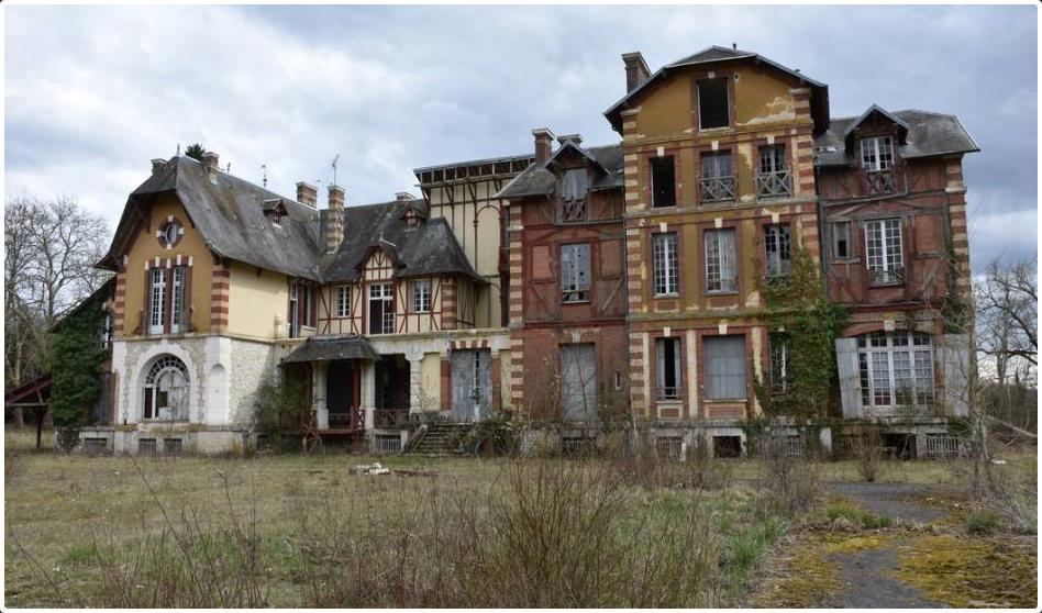 Ancien manoir de Guy Lux Les Choux printemps 2019